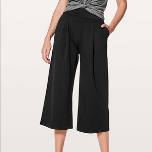 lululemon Can You Feel The Pleat Crop